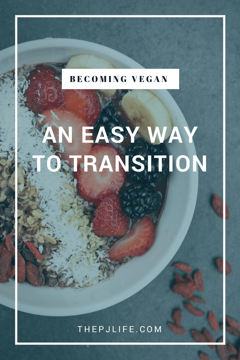 Becoming Vegan: An Easy way to transition