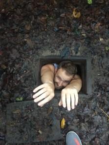 Cu Chi tunnels 'tourist size'