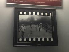 Napalm Girl picture at the War Remnants Museum