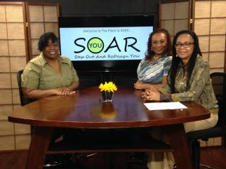 Sharel at the place to soar