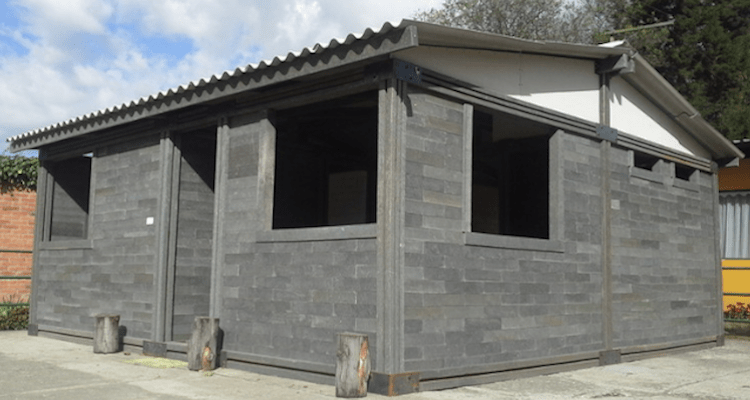This House Was Made Completely From Recycled Plastic