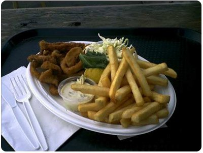 calmari plate - hudson bay seafood