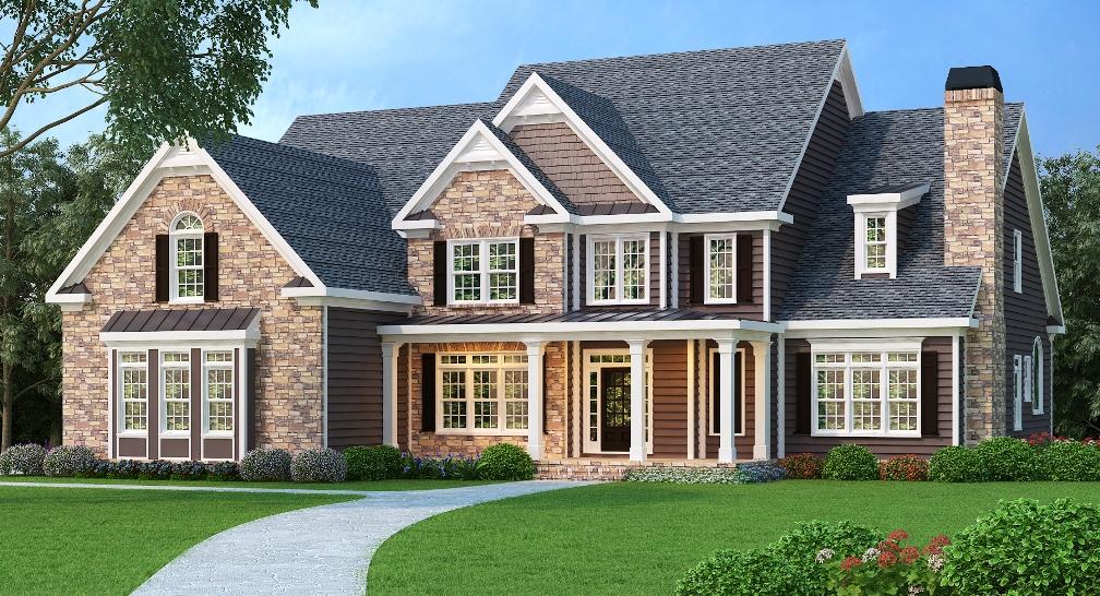 5 Bedrm, 4083 Sq Ft Luxury House Plan #104-1067