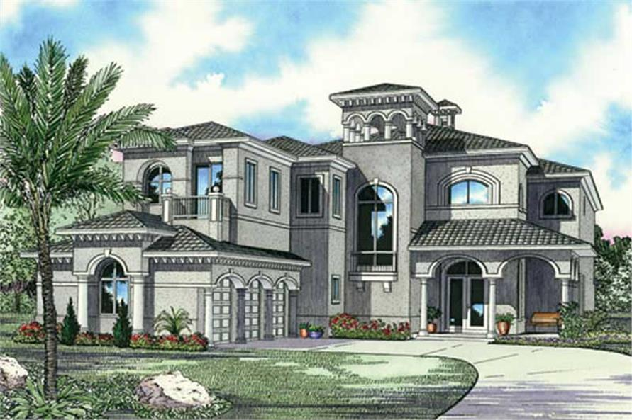 Luxury Home With 5 Bdrms, 5872 Sq Ft