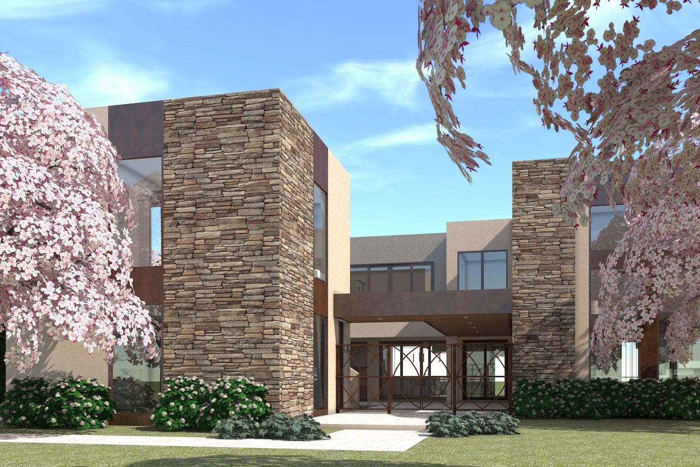 4 Bedrm, 3100 Sq Ft Modern House Plan #116-1078
