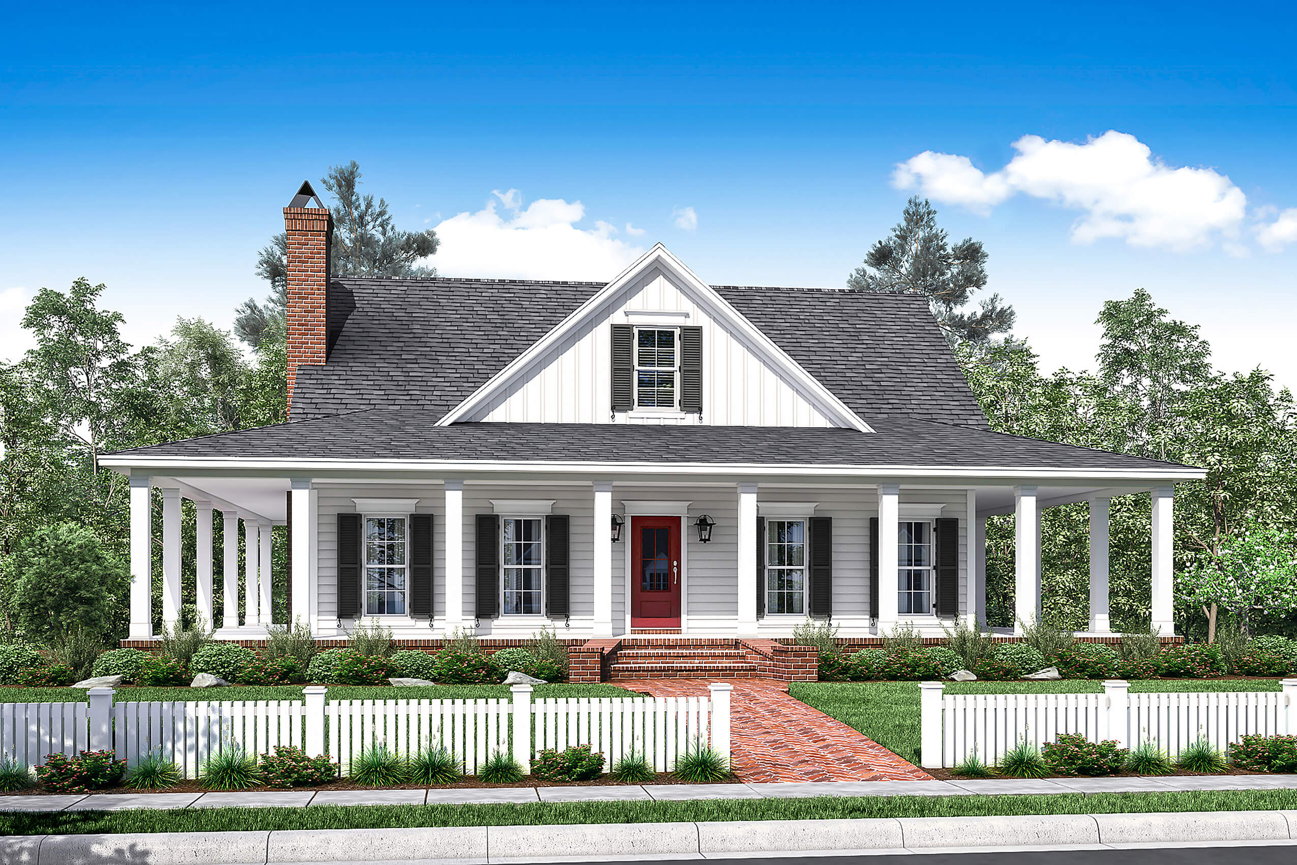 3 Bedrm, 2084 Sq Ft Southern Home With Wrap-Around Porch