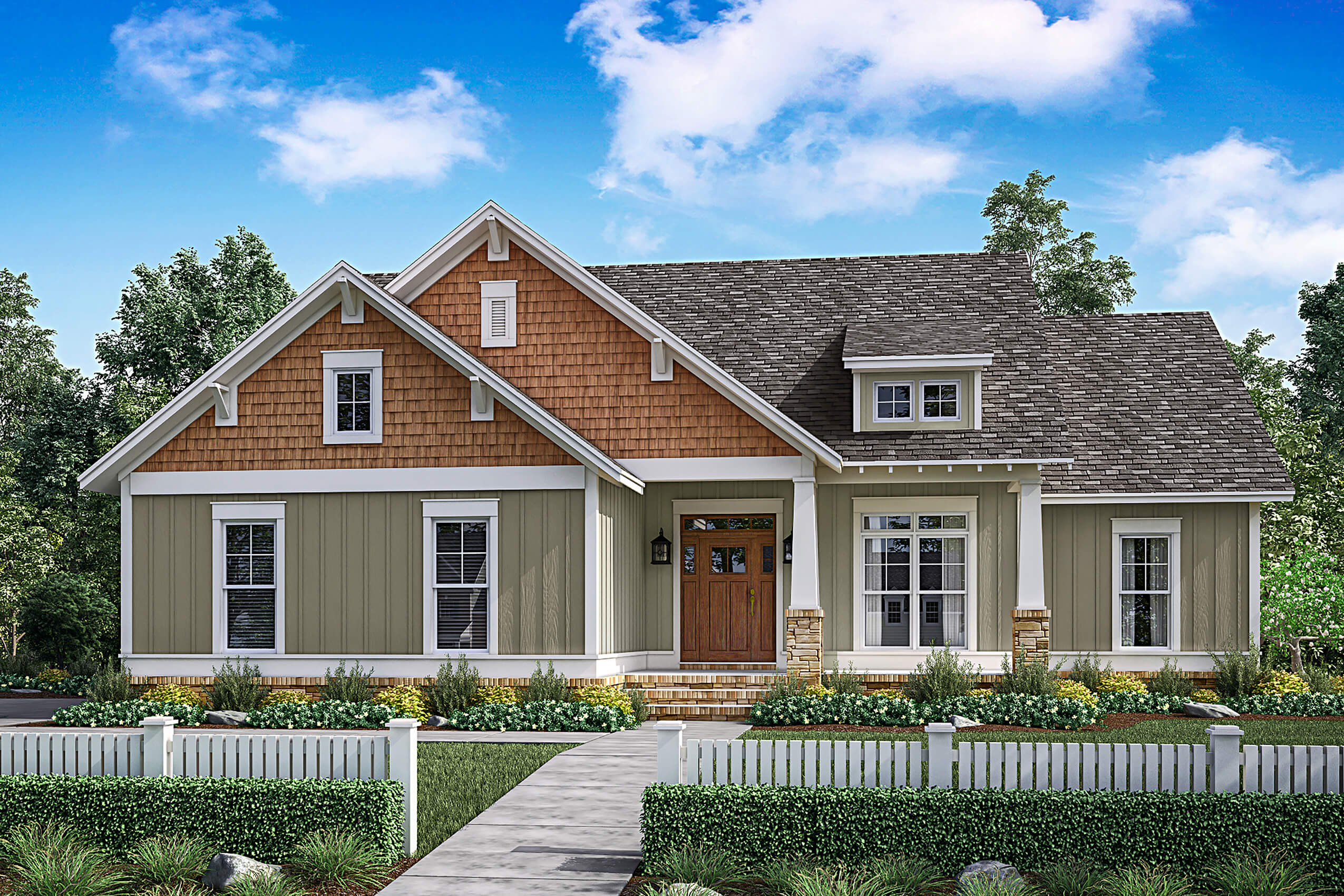 3 Bedrm, 1657 Sq Ft Traditional House Plan #142-1176
