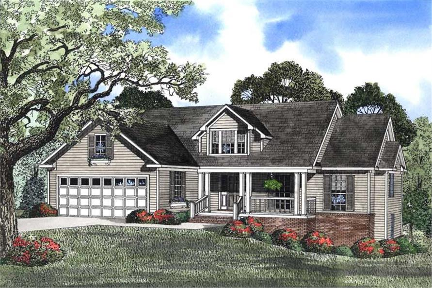 Traditional, Country, Ranch, Farmhouse House Plans