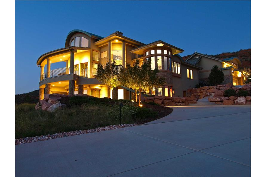Contemporary Mountain Houseplans