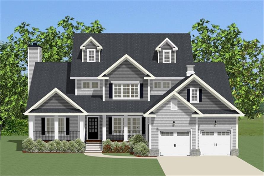 Luxury House Plan #189-1092: 4 Bedrm, 2715 Sq Ft Home