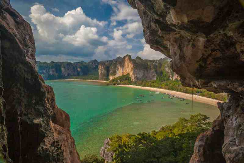 best beaches in thailand railay beach