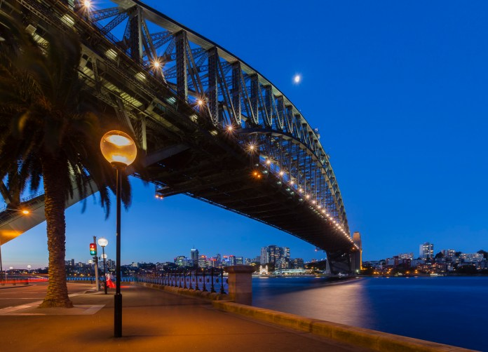 what to see in australia sydney harbour bridge