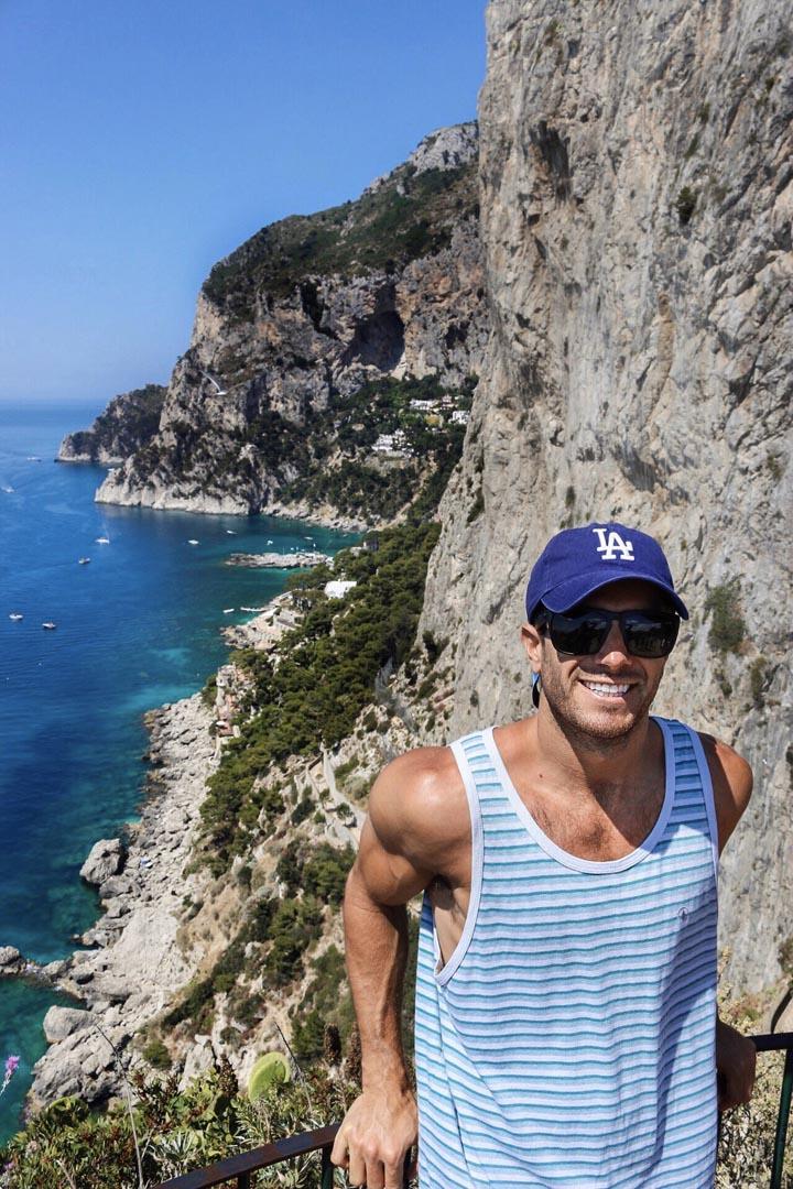 italian riviera towns capri