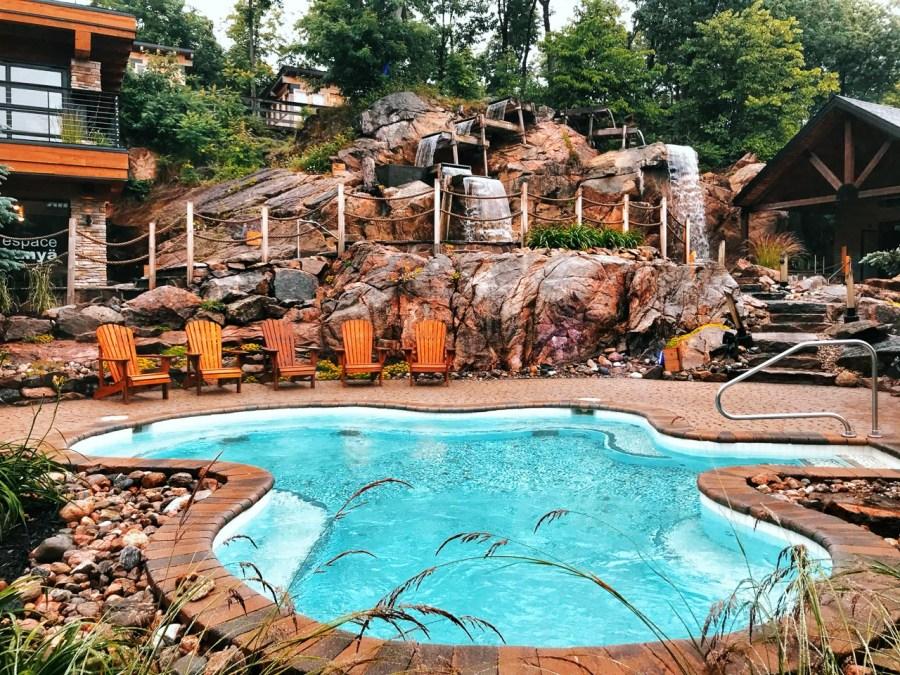 Nordik Spa Ottawa Pool