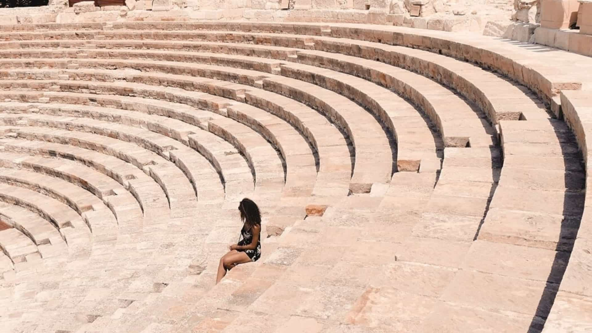 cyprus places to visit amphitheater