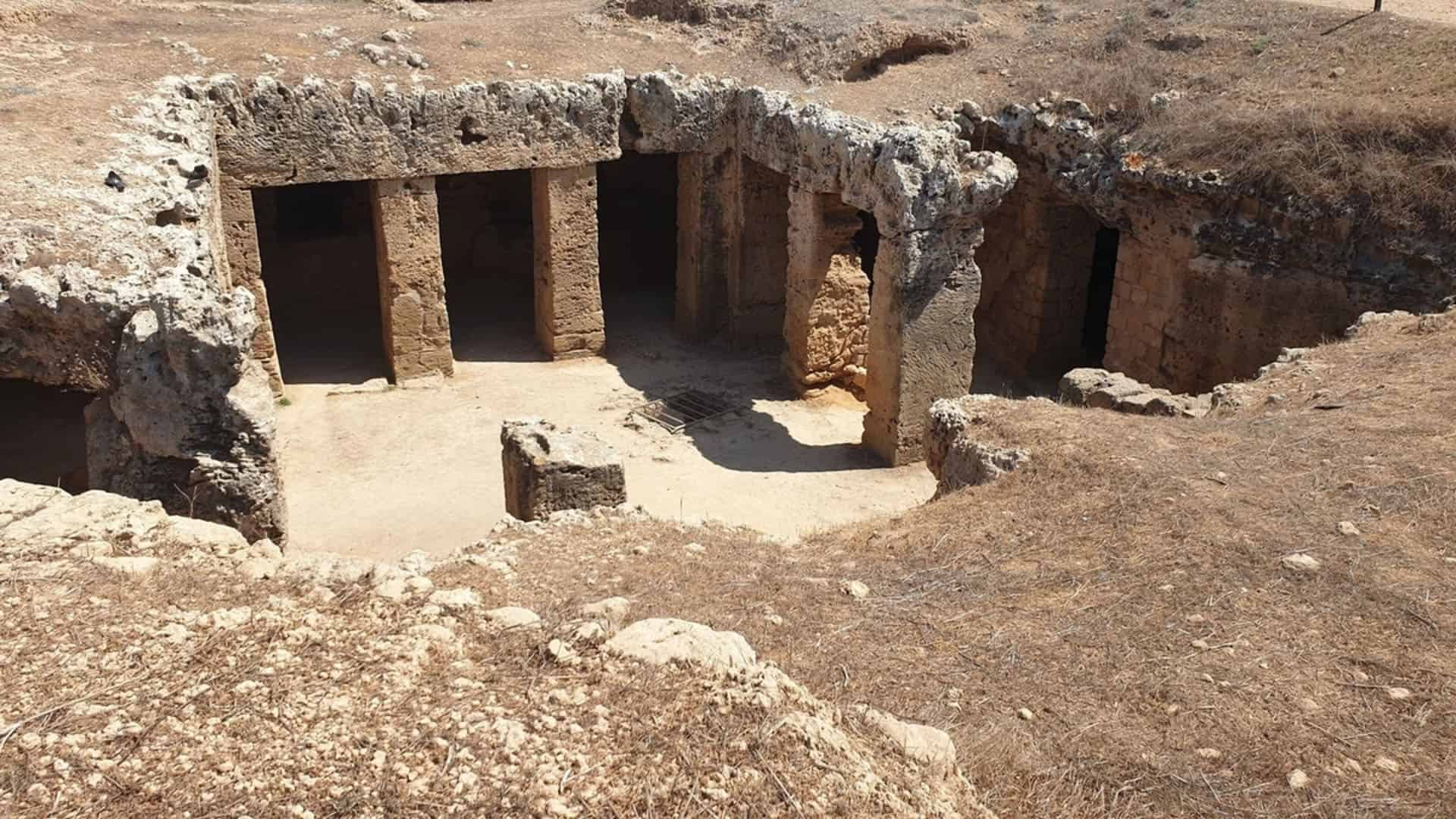 places to visit in cyprus tomb of the kings
