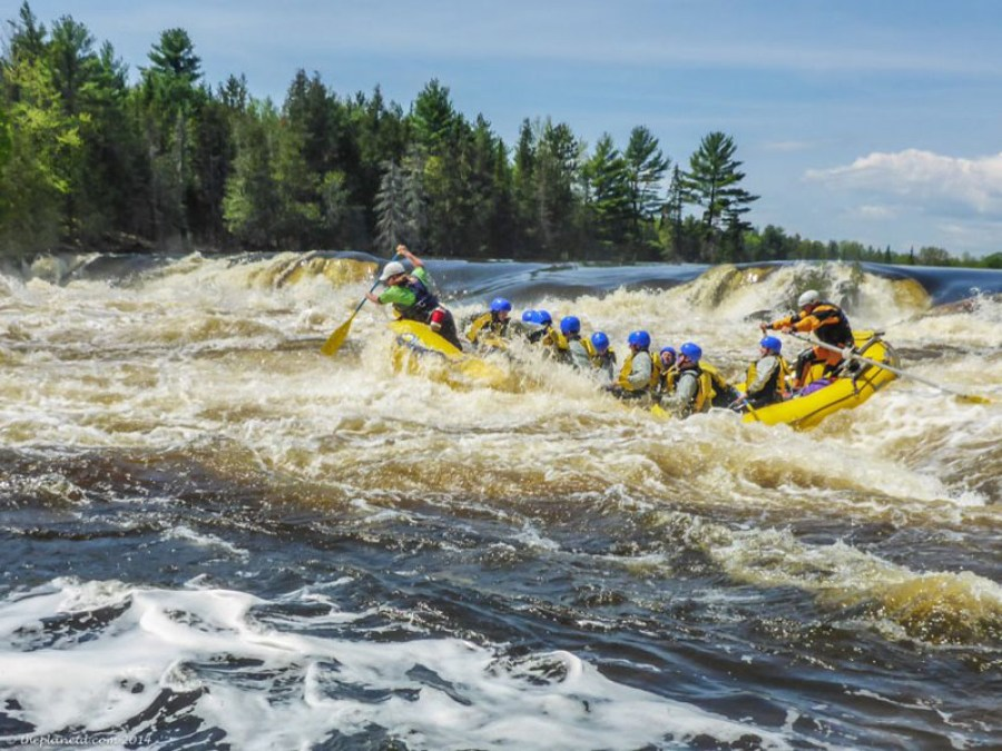 what to do in ottawa whitewater rafting