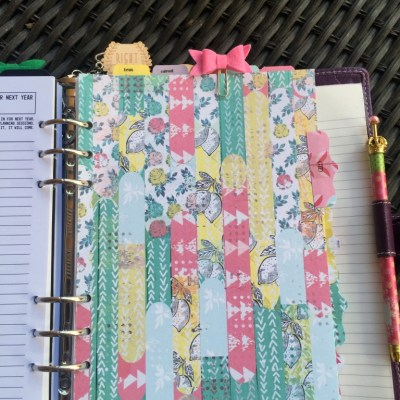 A Closer Look Inside My Planner-Getting Things Done Section