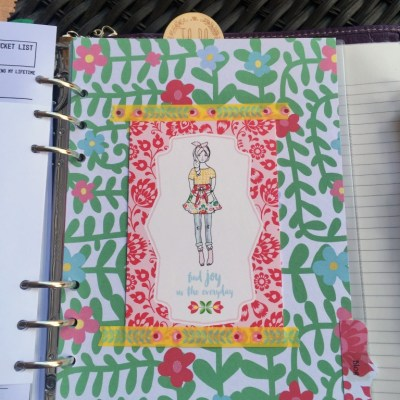 A Closer Look Inside My Planner-Blog Section