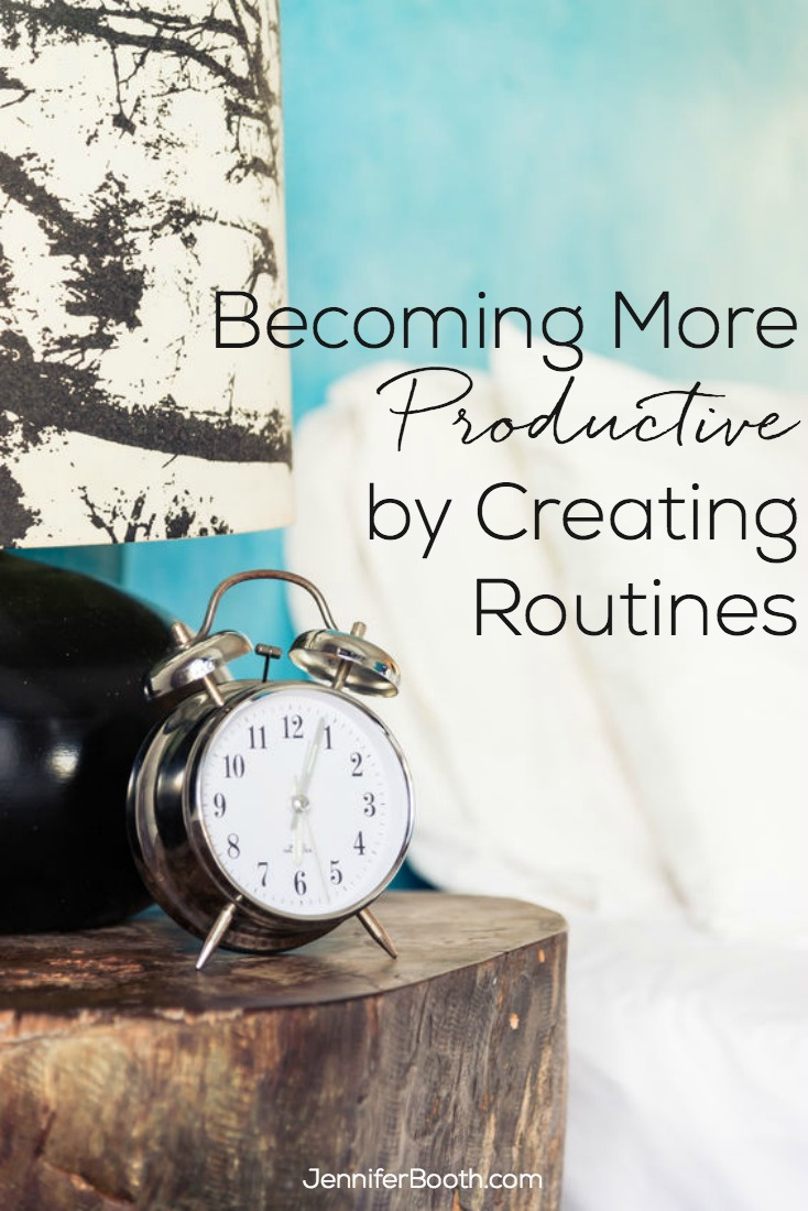 Becoming more productive