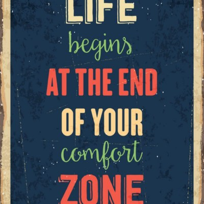 Getting Out of Your Comfort Zone Right Where You Are