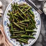 Sichuan Dry Fried Green Beans Vegan The Plant Based Wok