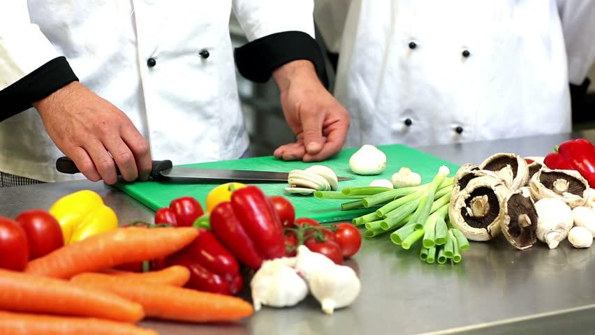 chef veggies