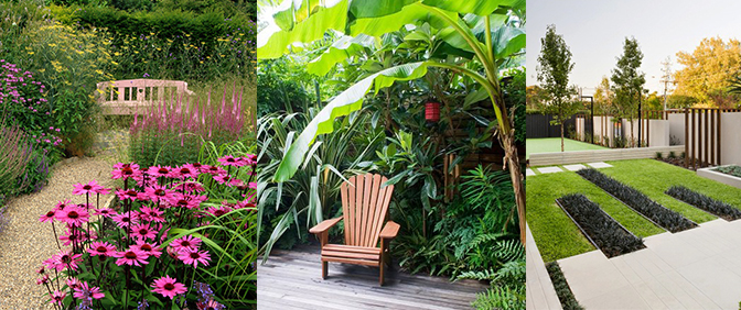Plant Selections Varies Greatly with Design Style