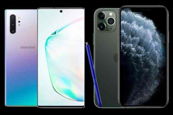 These Photos will make you love the new IPhone 11 and Samsung Galaxy Note 10 and want to get either of the two