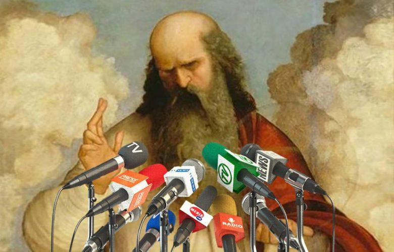God admitting mistake
