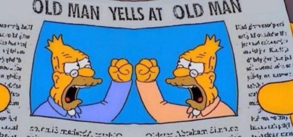 Old Man Yells
