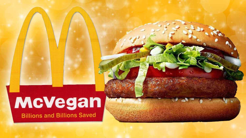 McDonald's Vegan Burger