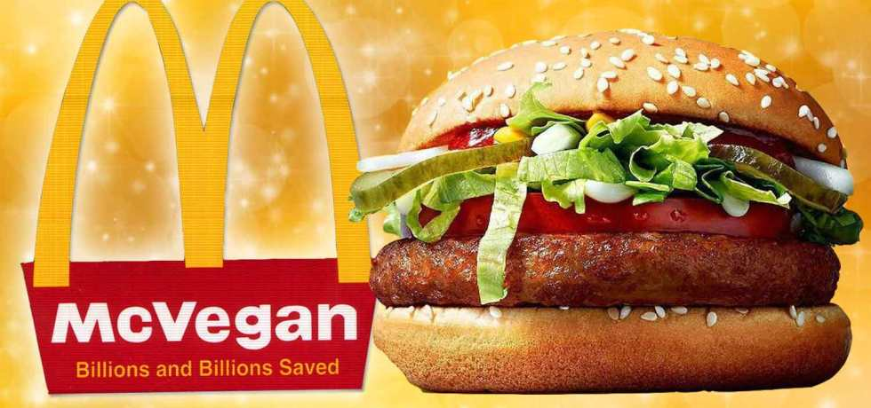 McDonald's Vegan Burger