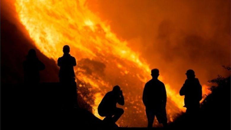 Wildfires Ravaging