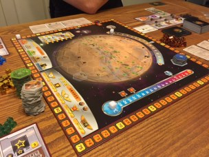 Game Board at the start of the game! So devoid of life, so stark....