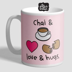 Chai & Love & Hugs Mug