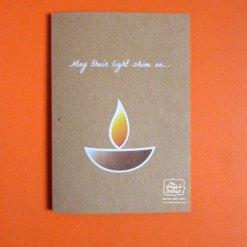 Light Shine On/Grievance Greeting Card