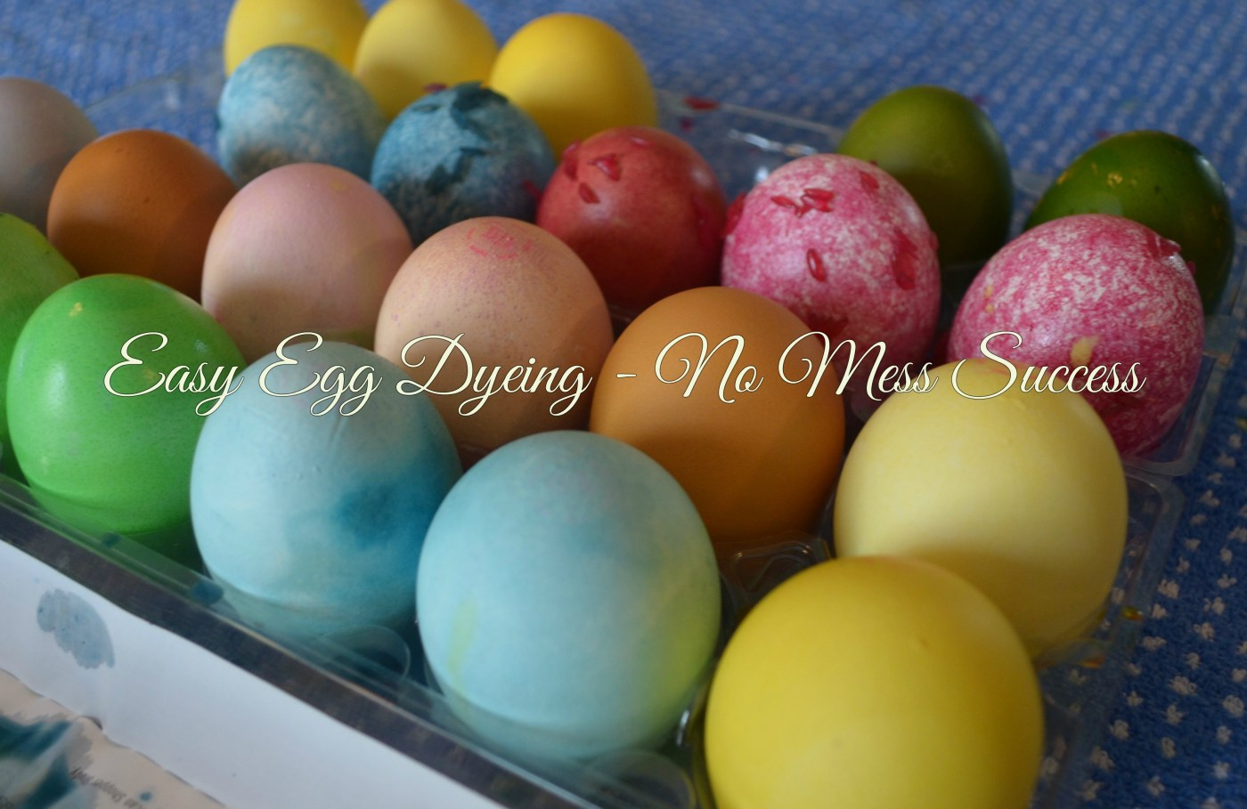 EASY EGG DYEING - NO MESS SUCCESS!