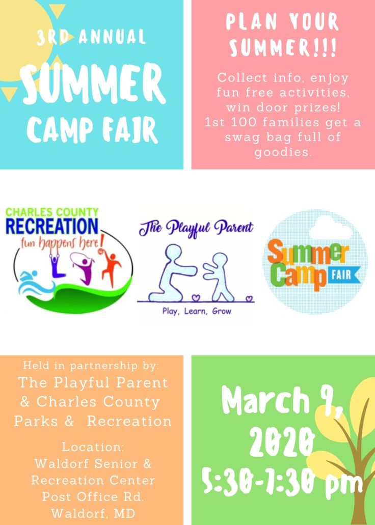 SUMMER CAMP FAIR FLYER - 2020