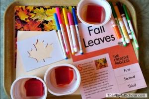 Fall Leaves – Creative Art