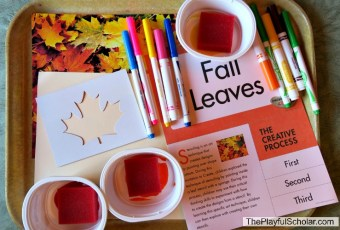 Fall Leaves – Creative Art
