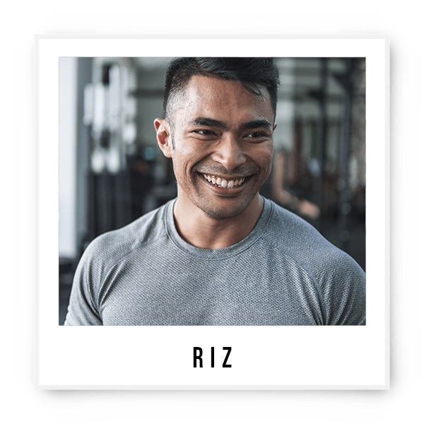 Not just a coach, but an explosive all round athlete. You guessed it right, he goes by the name of Riz. From a competing Mixed Martial Artist turned to a competitive CrossFit and Powerlifting athlete, Riz draws inspiration from his brutal but rewarding training from his several years of competition experience. Having gone through a physical transformation himself, he is ever ready to guide you on your fitness journey. He's not your typical big man but then, TYPICAL is not his daily phrase. Powered by fried chicken. Constantly Hungry. Swears by Heavy Lifting.