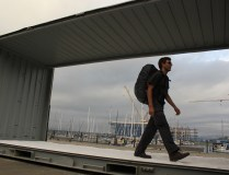 'Container Walk' by Mick Douglas