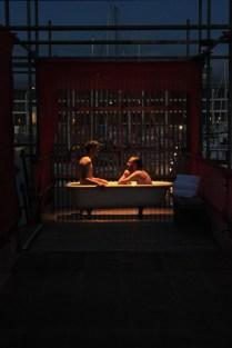 Bathers in 'Eureka II' by Amy Miller and Daniel Cruden