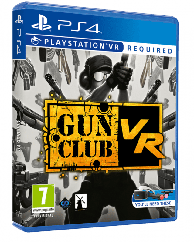 Gun Club Vr Is About To Get A Little More Physical Playstation When You Need It