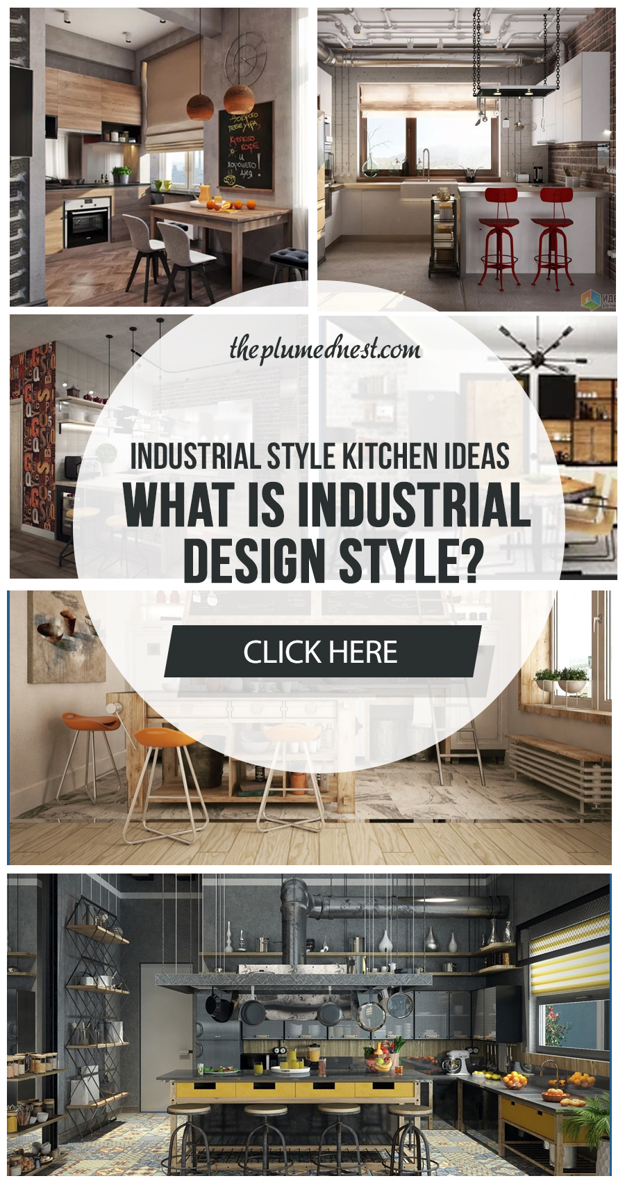 20+ Gorgeous Industrial Style Kitchen 2020 (Trends & Design Ideas)