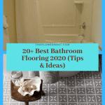20+ Best Bathroom Flooring 2020 (Tips & Ideas)