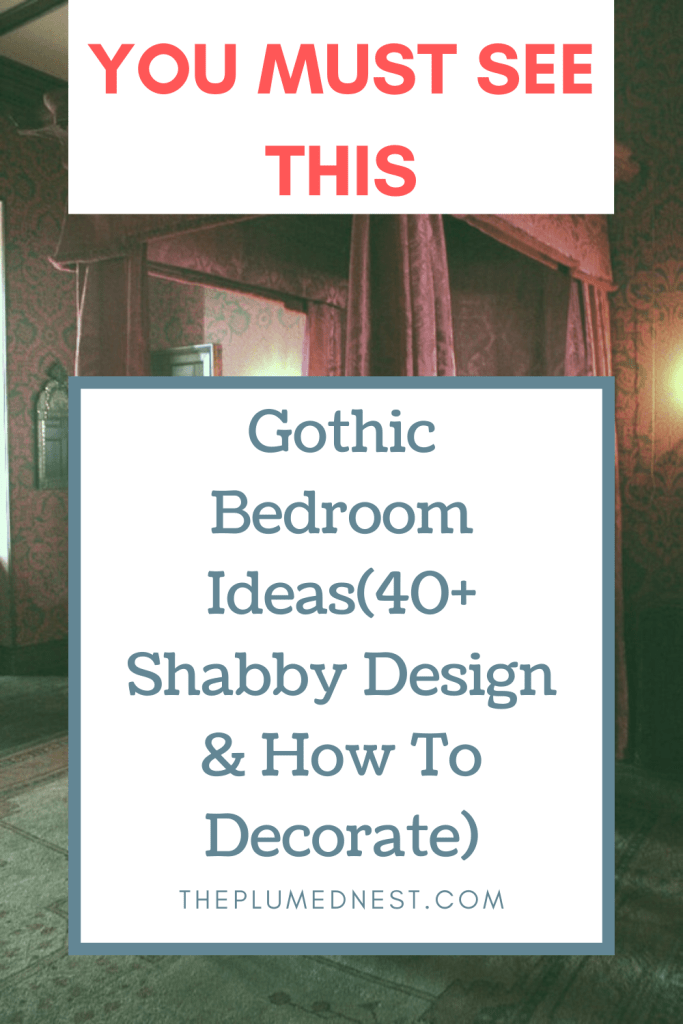 Gothic Bedroom Ideas 40 Shabby Design How To Decorate