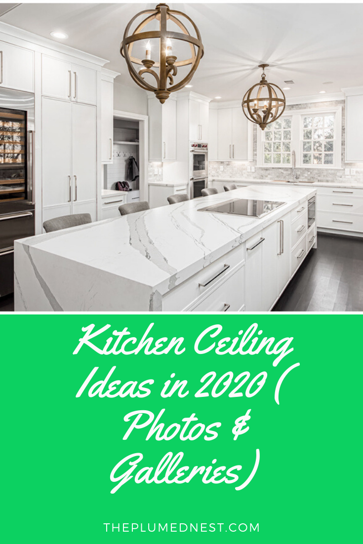 20 Kitchen Ceiling Ideas In 2021 Photos Galleries The Plumed Nest