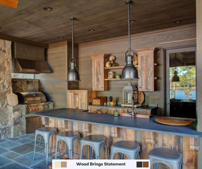 30 Outstanding Rustic Outdoor Kitchen Ideas Photos 2021